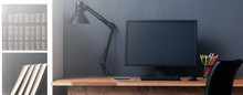 Home Workplace - Desk With Com...