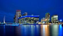 Salford Quays, Manchester, Eng...