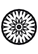 MANDALA Design, Black Mandala ...