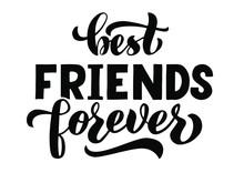 Best FRIENDS Forever -  Vector...