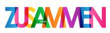 Typografie Vektor ZUSAMMEN