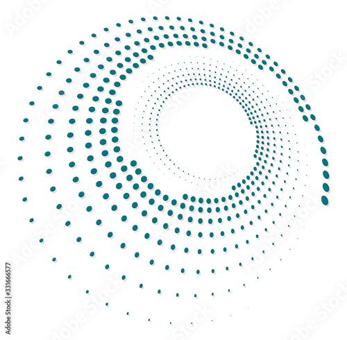 Single-colored,monochrome twirl, swirl Wallpaper Mural