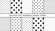 Dots Abstract Background. Temp...
