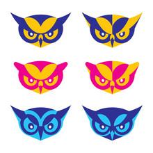 Owl Mascot Characters