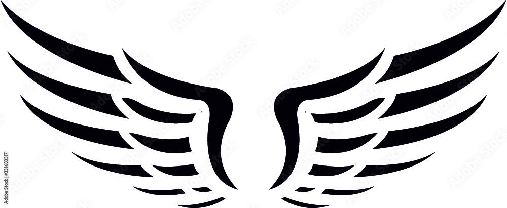 Fototapeta  WINGS eps- Angel Wings- wings cut file- wing eps- angel eps