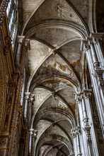 Gothic Stone Vaulting In An Ol...