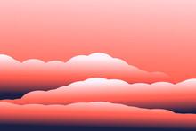3D Clouds. Modern Vector Illus...