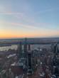 New York sunset landscape