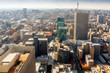 canvas print picture - Downtown of Johannesburg, South Africa