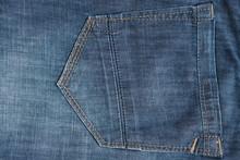 Light Blue Denim Pocket Embroi...