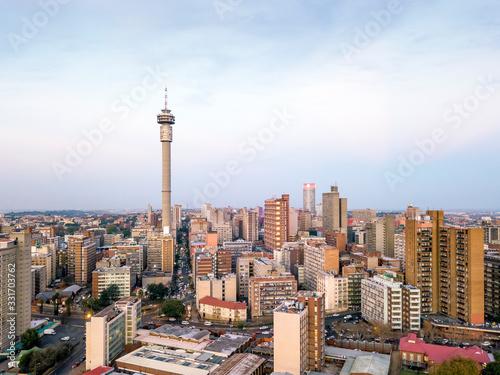 Fototapeta premium Śródmieście Johannesburga, RPA