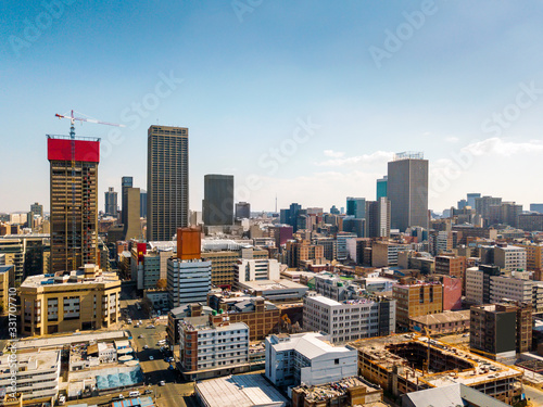 Downtown of Johannesburg, South Africa