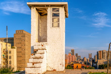 Famous Constitution Hill In Johannesburg, South Africa