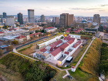 Aerial View Of Constitution Hill In Johannesburg, South Africa
