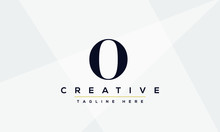 Creative Abstract Letter O Log...