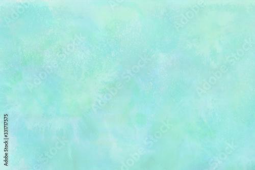 Fényképezés 淡い色の手描き水彩背景