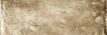 Sepia Background. Front View O...