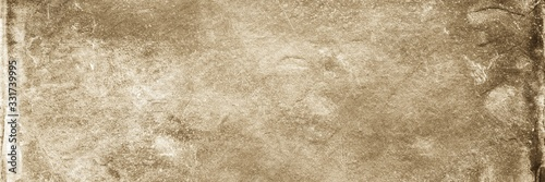 Sepia background. Front view of blank old dirty background Wallpaper Mural