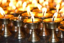 Namo Buddha, Nepal-butter Candles