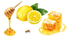 Honey Comb, Dipper, Lemon Set ...