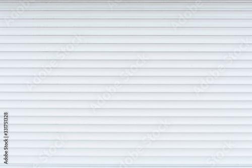 Photo White anti-theft shutters closeup