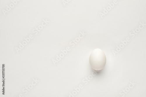 Valokuva white egg on background, Egg White, белое яйцо на белом фоне, белый фон, белое я