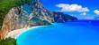 One of the most beautiful beaches of Greece- Porto Katsiki in Lefkada. Ionian islands