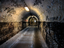A Creepy Charming Tunnel In Budapest