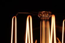 Glowing Vintage Edison Light B...