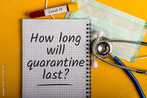 Photo How long will quarantine last - Means to stop the spread of the disease, self-quarantine