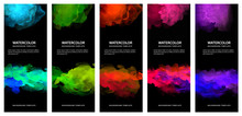 Set Of Bright Vector Colorful ...