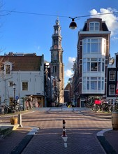 Cityscape Near Westerkerk, Amsterdam