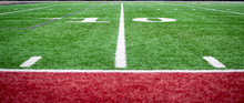 Side Lines Of The Football Field