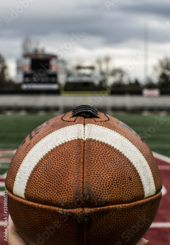 Fényképezés Football at eye level