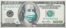 USA 100 Dollar Banknote With F...