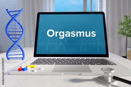 Orgasmus – Medizin, Gesundheit Fototapete