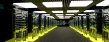 Servers. Server Room Data Cent...
