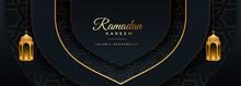 Beautiful Ramadan Kareem Black...