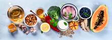 Immune Boosting Health Food Se...