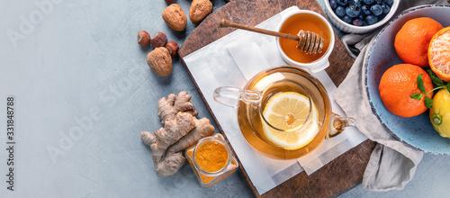 Obraz Remedies for cold and flu. - fototapety do salonu