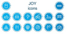 Editable 14 Joy Icons For Web ...