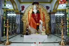 Sai Baba In Indian Temple