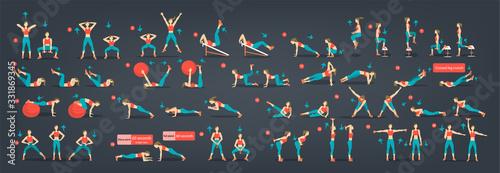 Foto Workout girl set
