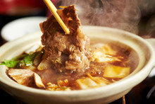 Sukiyaki, Japanese Hot Pot Dish