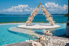 Arch For A Wedding Ceremony