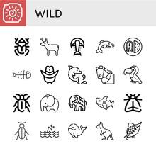 Wild Icon Set
