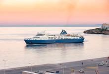 View Of Port, Terminal Dock An...