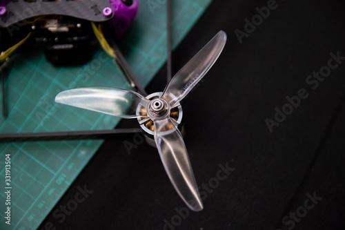 Photo Modellbau: Propeller einer Drohne