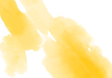 Yellow Watercolor Abstract Ill...