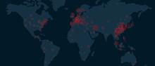 World Map Of Corona Virus Covi...
